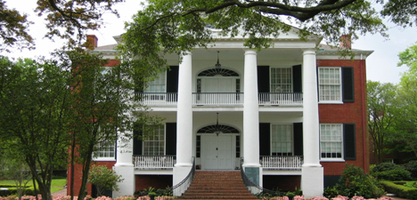 Classical revival style house