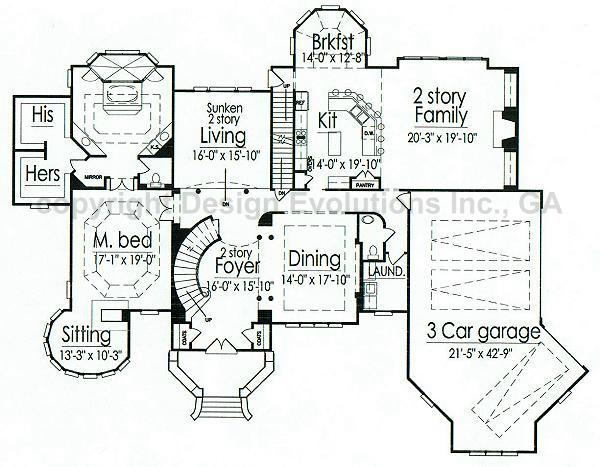 fortress style house plans - house interior