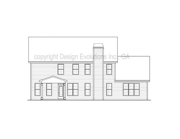 Boxley rear elevation
