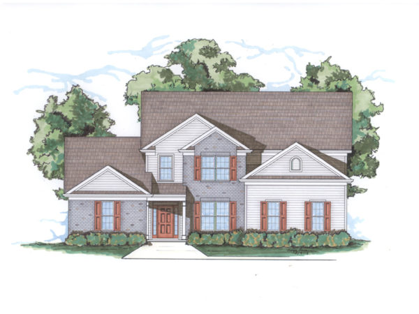Boxley elevation rendering