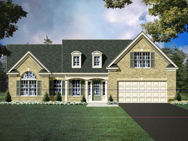 Symone house plan rendering